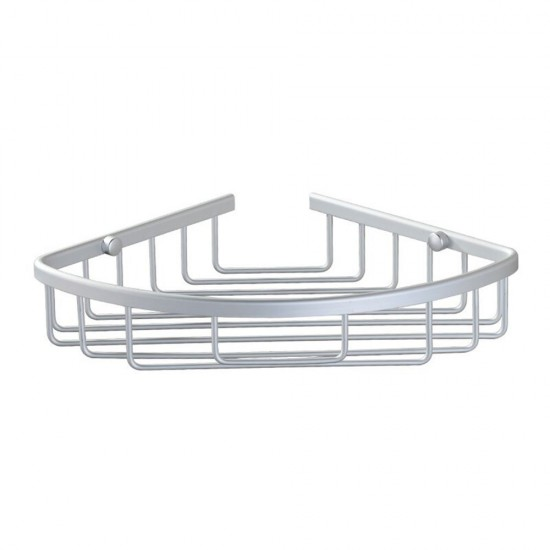 MyLifeUNIT: Aluminum Wall Mount Shower Caddy Corner Backet Shelf ...