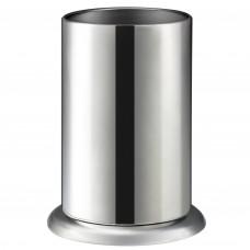 """Counter-top Straw Dispenser, Stainless Steel Straw Holder Organizer 6.3"""" x 4"""""""