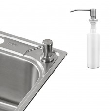 Deck Mount Soap Dispenser, Stainless Steel Soap Dispenser, 300ml