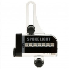 Bike Spoke Wheel Lights, 14 LED Spoke Light for Night Riding With 30 Different Pattern Changes