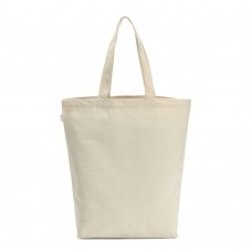 Reusable Shopping Bags Canvas with Handles, 14x14.5 Inch, Off White