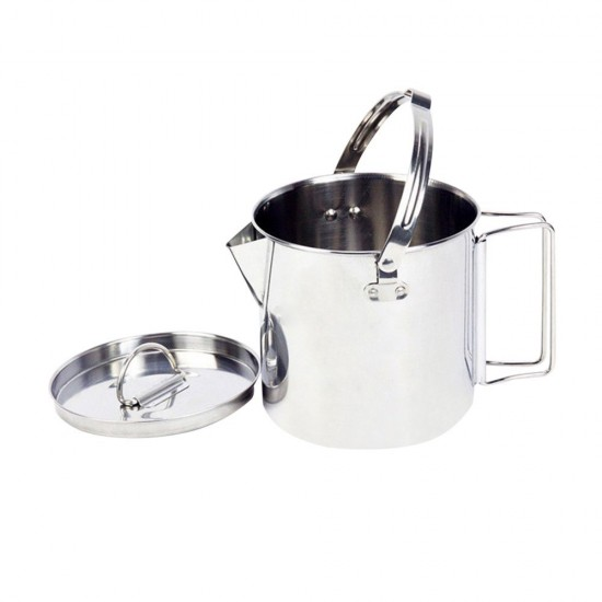 14d69fe5bbb MyLifeUNIT  Outdoor Stainless Steel Camping Kettle