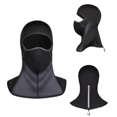 Lycra Windproof Ski Mask, Fleece Warm Mask For Outdoor Sports, Cold Weather Full Face Mask For Men and Women
