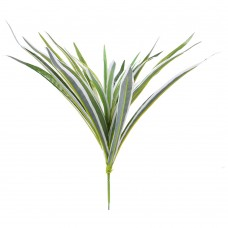 5 Branch Artificial Spider Plant Chlorophytum Faux Greenery Home Decoration (Green)