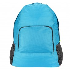Ultra Lightweight Waterproof Packable Travel Backpack Daypack, Perfect for Camping, Hiking, Climbing (Blue)