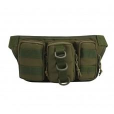 Zipper Waist Bag, Fanny Bag Outdoor Waist Pack for Camping Climbing Hiking