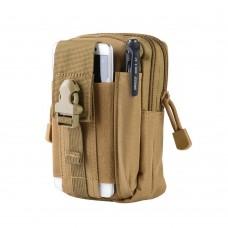 Universal Tactical Waist Bag, Military Waist Belt Bag with Phone case, Zipper Waist Pack