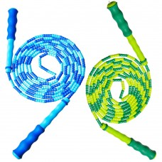 Double Dutch Jump Rope for Kids, 10 Feet skipping rope with plastic segmentation (Pack of 2)