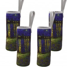 4 Pcs Neoprene Sleeve For 18 oz Glass Water Bottle
