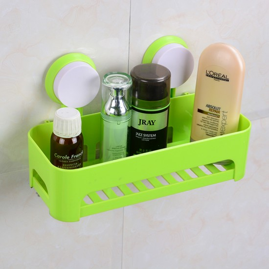 MyLifeUNIT: Bathroom Waterproof Suction Cup Shower Caddy Shower ...