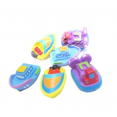 Rubber Boat 3 Piece Squeeze Bath Tub Toys Set