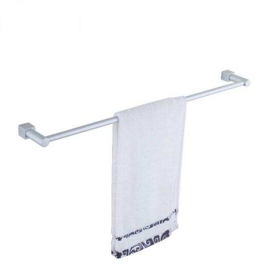 Mylifeunit Bathroom Aluminum Wall Mount Single Towel Bar Rack 23 Inch By