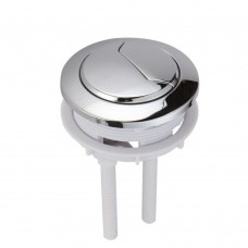Dual Push Flushing Toilet Button Toilet Tank Button Lever 58 mm Diameter
