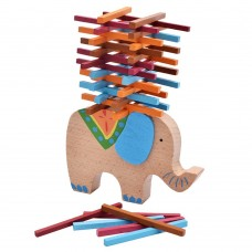 Balance Blocks Toy, Wooden Balance Stacking Game for Kids