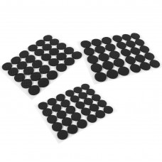 1-Inch Adhesive Rubber Furniture Pads, Non-Slip Furniture Pads for Hard Surface, 90-Piece