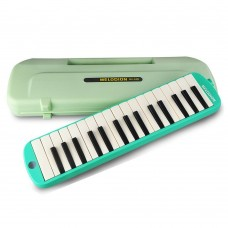 32 Key Melodica, MX-32D Alto Melodion with Hard Case and Mouthpiece