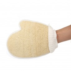 Loofah Mitt - Natural Loofah Exfoliating Gloves - Body Scrubber Sponge