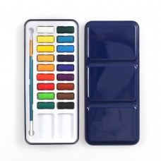 Watercolor Paint Set, 18 Assorted Colors Upgrade Paints with Brush for Artist Drawing Painting