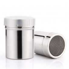 Stainless Steel Salt and Pepper Shakers Spice Bottles